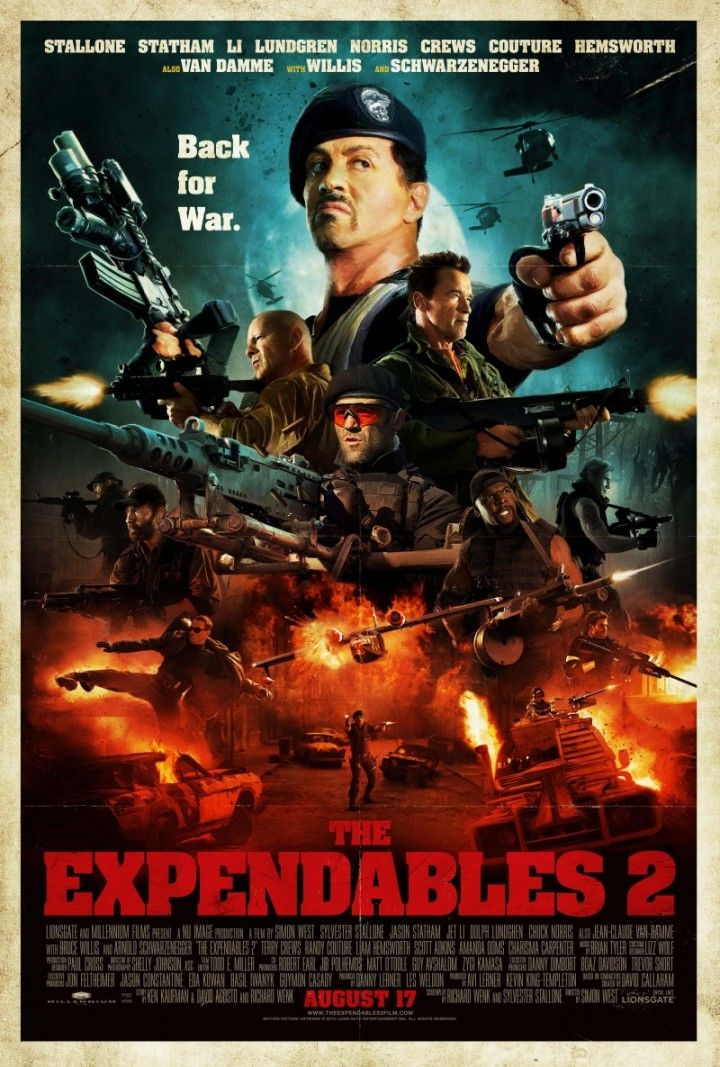 The Expendables 3 (2014) Full Hindi Dubbed Movie Download