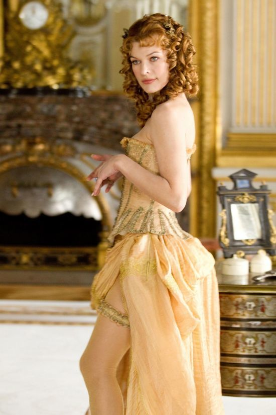 Milla Jovovich in The Three Musketeer.