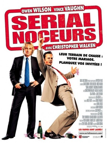 Wedding Crashers (French Rolled) Movie Poster.