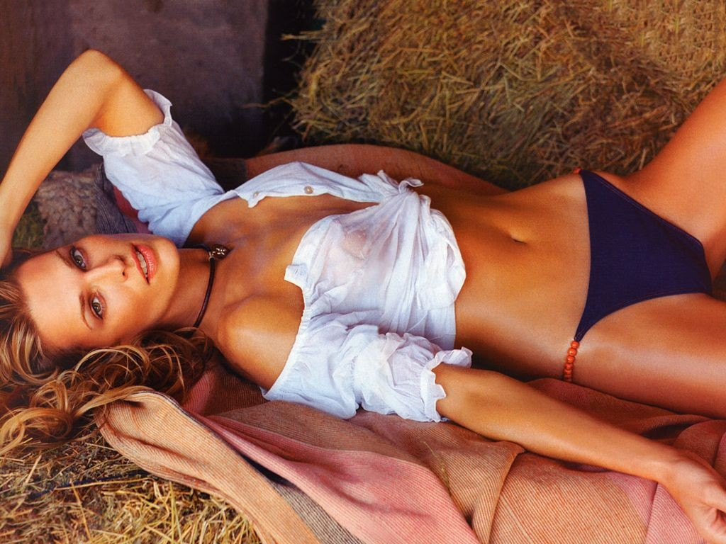 Сексуальное фото, фотообои с Molly Sims - Молли Симс.