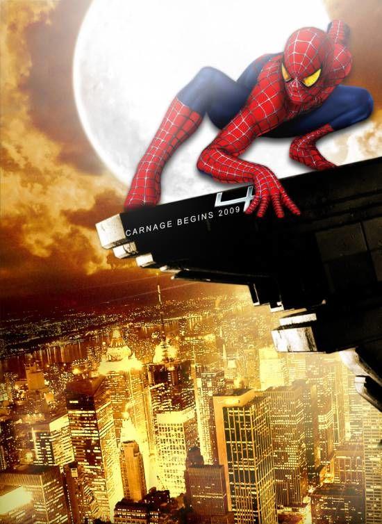 Новый человек паук постеры