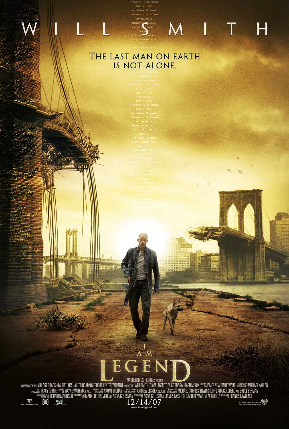 loneliness in the novel i am legend by robert neville