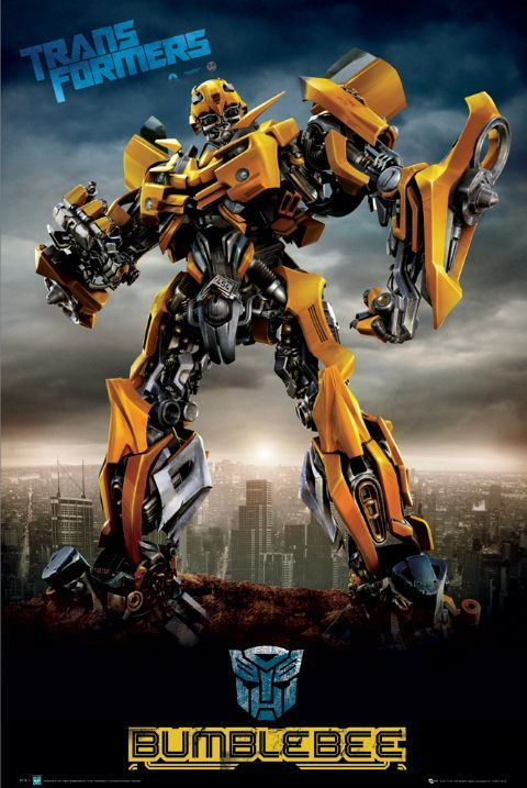 Transformers BumbleBee with Tone.